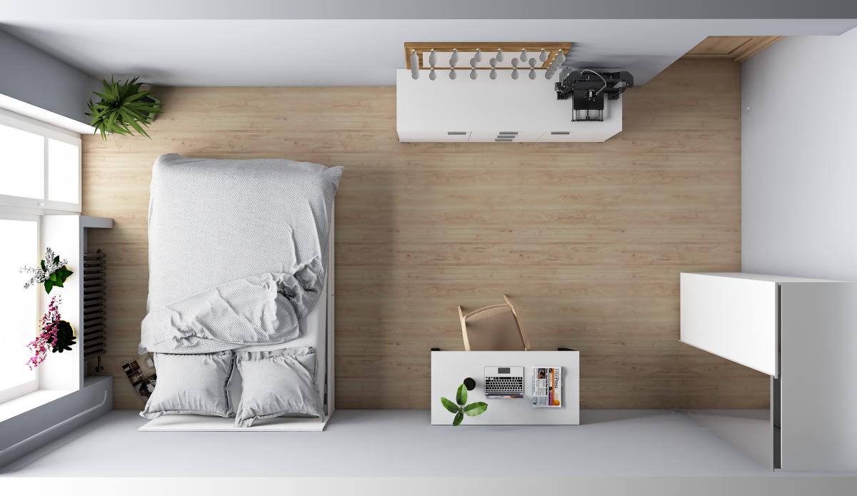 Как примерить мебель в свою комнату - видео