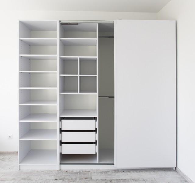 Шкаф-стеллаж раздвижной Практик
