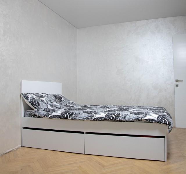 Односпальная кровать Смарт Нест 1 XL с 2 ящиками