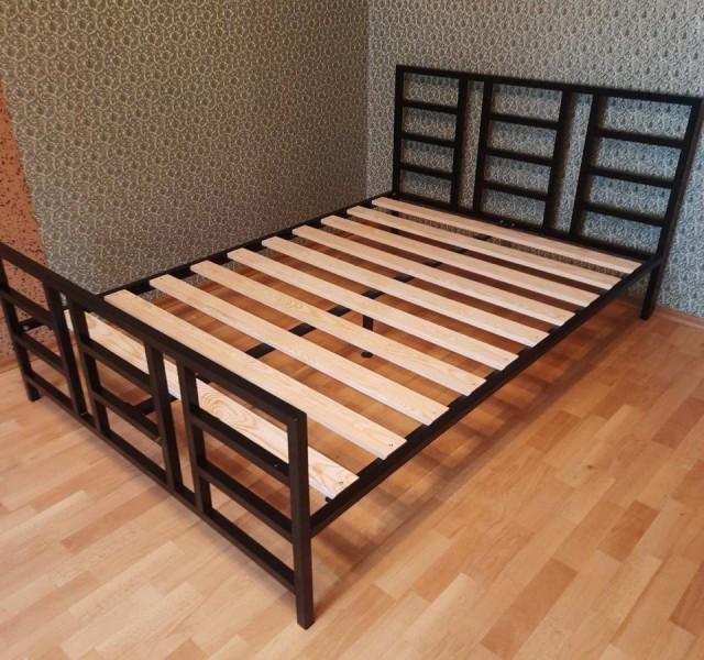 Двуспальная кровать Лофт Нест 1