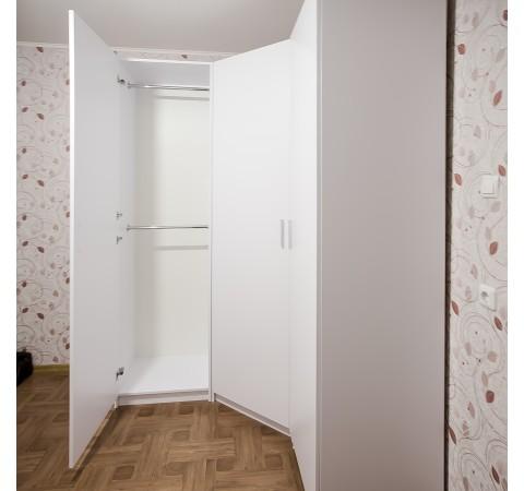 Шкаф угловой распашной Практик