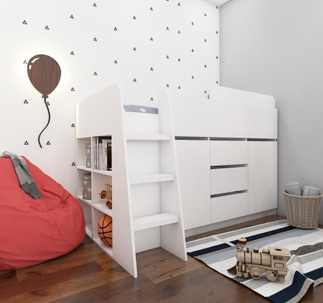 Кровать-комод Мульти Нест 4.2
