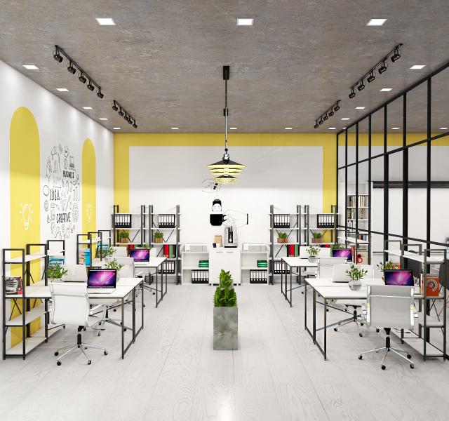 Идея офиса для 8 сотрудников