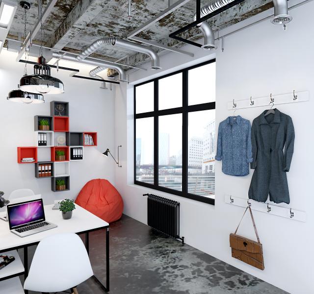 Идея офиса для 2 сотрудников