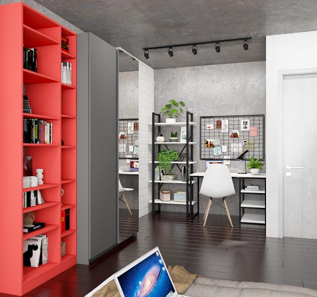 Спальня-домашний офис Идея #1