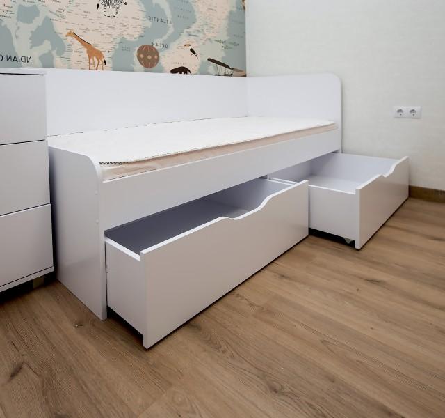 Кровать-кушетка Смарт Нест 1.2 Kids