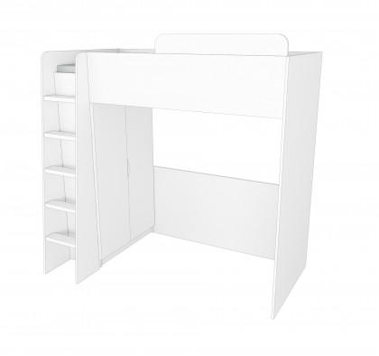Кровать-чердак Мульти Нест 5.2 + шкаф