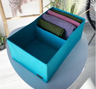 Коробка для хранения с перегородкой