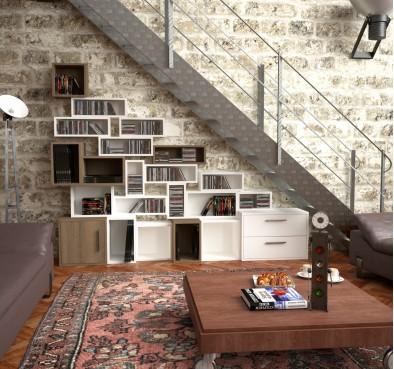 Библиотека под лестницей Элемент #8