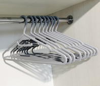 Комплект вешалок для одежды (10 шт.)