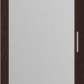 thumb_Дверь распашная Венге + зеркало