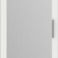 thumb_Дверь распашная Белая + зеркало