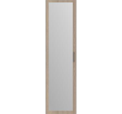 Дверь распашная Дуб Лимберг + зеркало