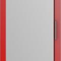 thumb_Дверь распашная Красная + зеркало