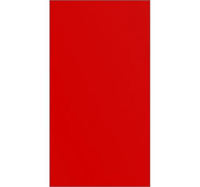 Дверь раздвижная L Красная