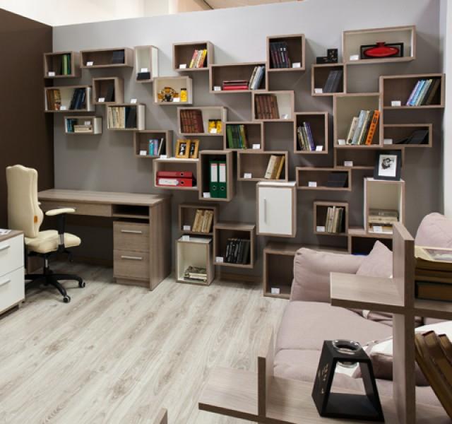 Библиотека-домашний офис Элемент #2