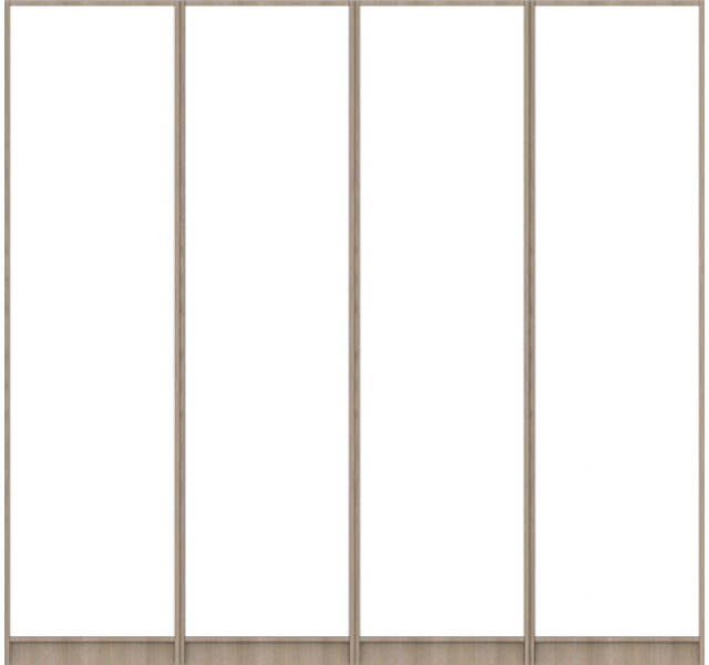 Корпус шкафа для распашных дверей (размер L)
