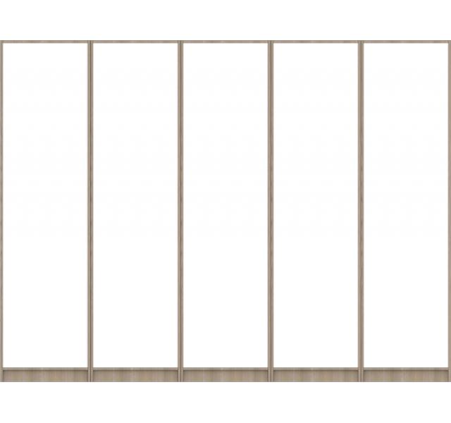 Корпус шкафа для распашных дверей (размер XL)