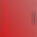 thumb_Дверь распашная Красная