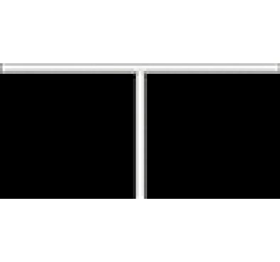 Полка Т-образная