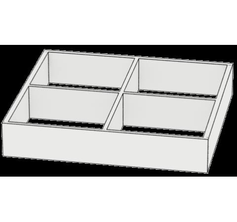 Разделитель для ящика 4 секции