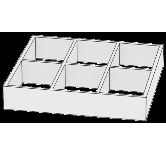 Разделитель для ящика 6 секций